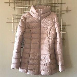 blush guess? puffer coat